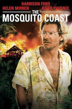 The Mosquito Coast movie poster.