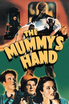 The Mummy's Hand movie poster.