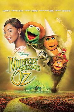 Poster for the movie The Muppets' Wizard of Oz