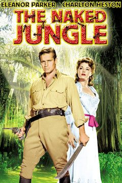 The Naked Jungle movie poster.