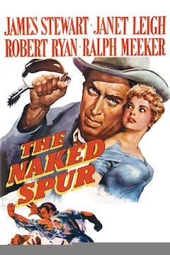 The Naked Spur movie poster.