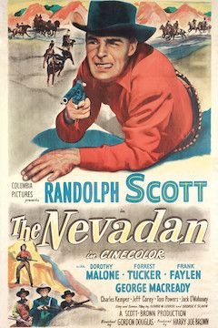The Nevadan movie poster.