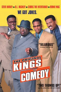 The Original Kings of Comedy movie poster.