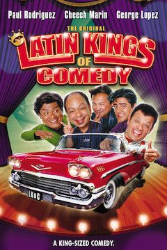 The Original Latin Kings of Comedy movie poster.