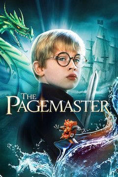 The Pagemaster movie poster.