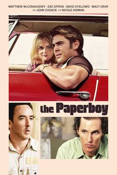 The Paperboy movie poster.