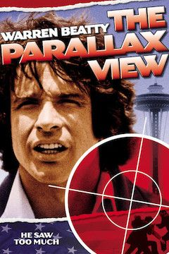 The Parallax View movie poster.