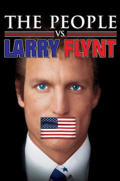 The People vs. Larry Flynt movie poster.