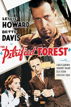 The Petrified Forest movie poster.