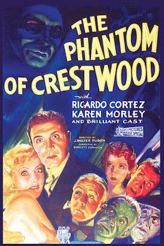 The Phantom of Crestwood movie poster.