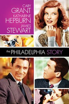 The Philadelphia Story movie poster.
