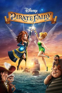 The Pirate Fairy movie poster.