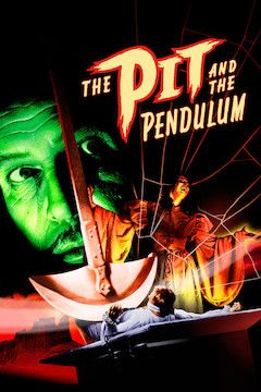 The Pit and the Pendulum movie poster.