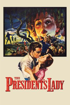The President's Lady movie poster.