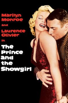 The Prince and the Showgirl movie poster.