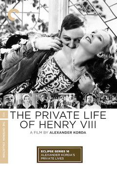 The Private Life of Henry VIII movie poster.