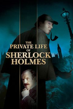 The Private Life of Sherlock Holmes movie poster.