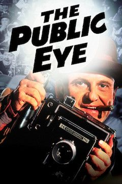 The Public Eye movie poster.