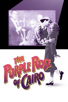 The Purple Rose of Cairo movie poster.