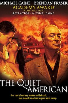 Poster for the movie The Quiet American