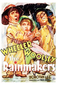 Poster for the movie The Rainmakers