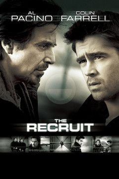 The Recruit movie poster.
