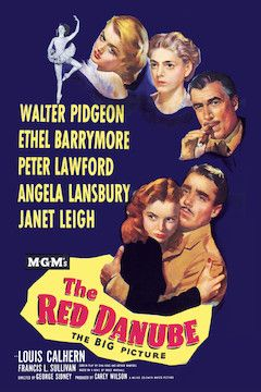The Red Danube movie poster.