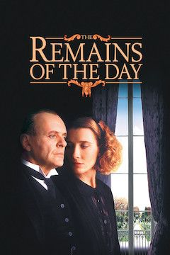 The Remains of the Day movie poster.