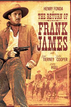 The Return of Frank James movie poster.