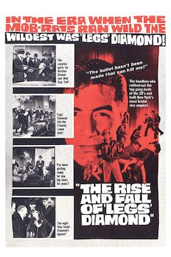 The Rise and Fall of Legs Diamond movie poster.