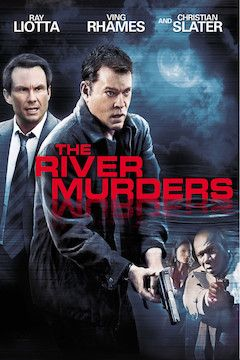 The River Murders movie poster.