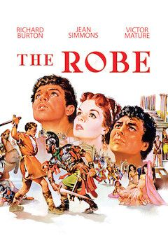 The Robe movie poster.