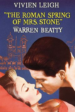 The Roman Spring of Mrs. Stone movie poster.