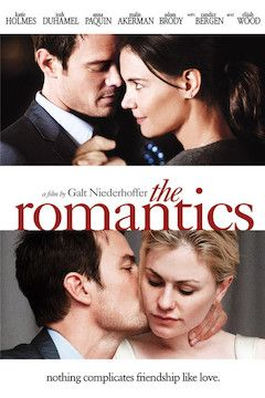 The Romantics movie poster.
