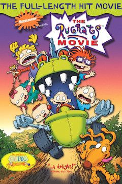 The Rugrats Movie movie poster.