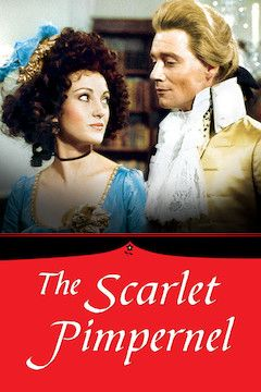 Poster for the movie The Scarlet Pimpernel