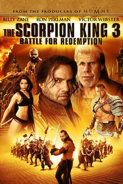 The Scorpion King 3: Battle for Redemption movie poster.
