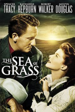 The Sea of Grass movie poster.