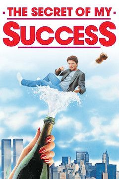 Poster for the movie The Secret of My Success