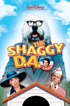 The Shaggy D.A. movie poster.
