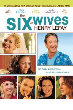 The Six Wives of Henry Lefay movie poster.