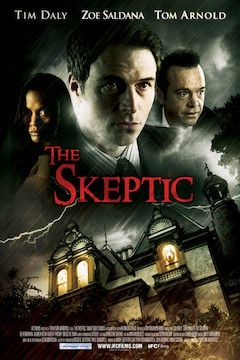 Poster for the movie The Skeptic