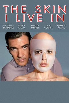 The Skin I Live In movie poster.