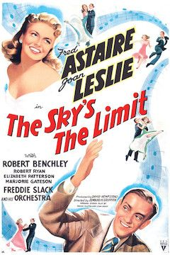 The Sky's the Limit movie poster.