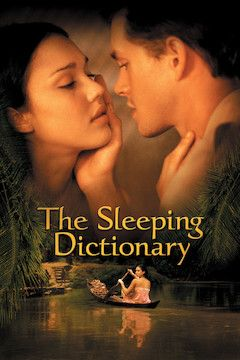 The Sleeping Dictionary movie poster.