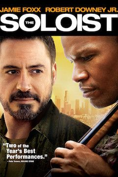 The Soloist movie poster.