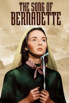 The Song of Bernadette movie poster.