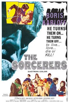 The Sorcerers movie poster.