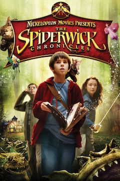 The Spiderwick Chronicles movie poster.