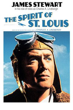 The Spirit of St. Louis movie poster.